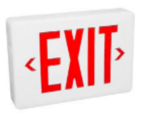 Exit Sign for ARCHICAD